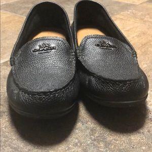 Flat coach dress shoes. Women's size 8